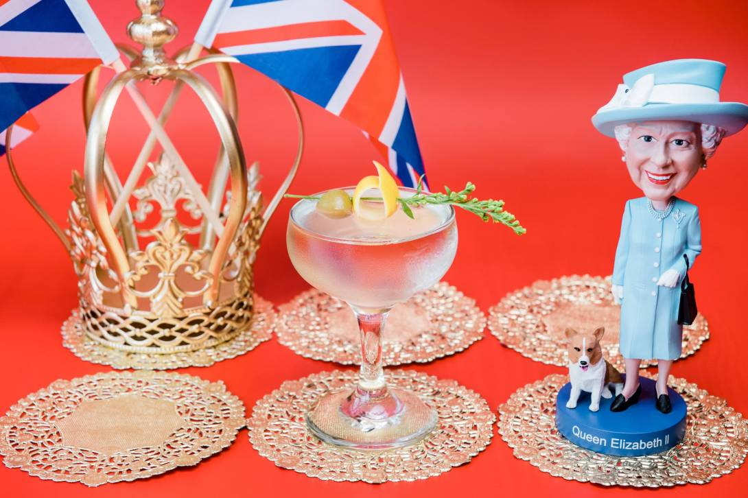 'God Save the Queen' is one of 11 original cocktails at Drink Company's Royal Wedding PUB, running May 4-20. - Photo by Karlin Villondo Photography