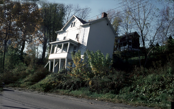Leaning HOuse Connellsville PA 1978